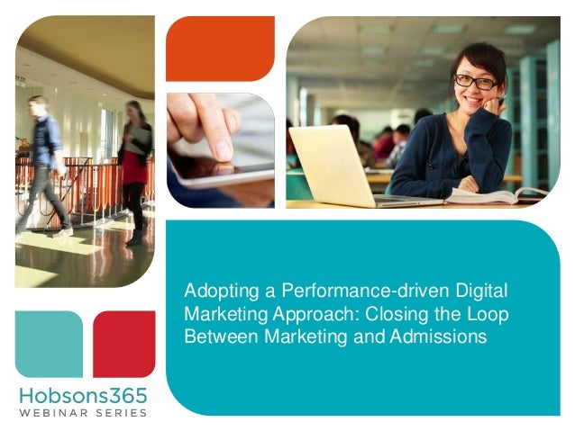 Closing the Marketing to-Admissions Loop