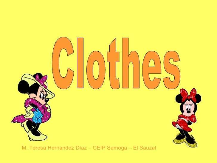 Clothes My Ppt