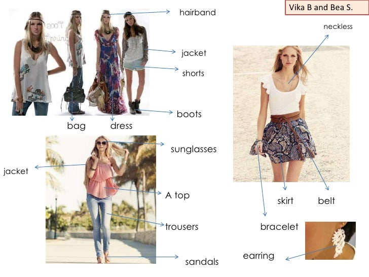 Clothes and complements eso1 b