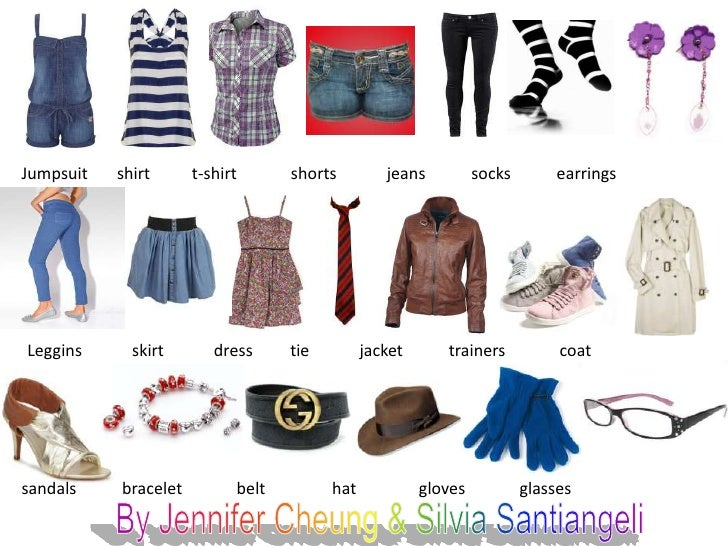 Clothes and complements eso 1 c