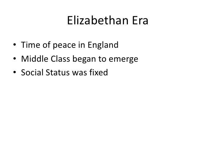 England Social Classes Englandmiddle Class