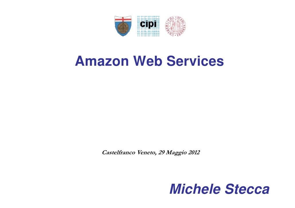 Cloud  Amazon IaaS aws