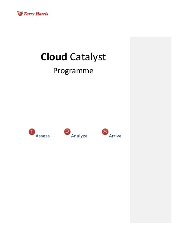 Cloud Catalyst Programme | Torry Harris Whitepaper