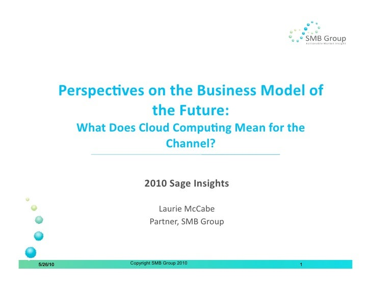 What Does Cloud Computing Mean for the Channel?