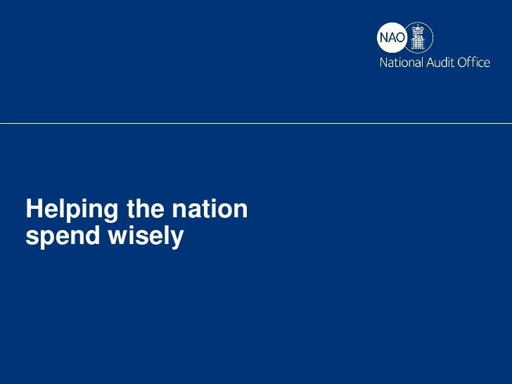 Cloud   Jonathan Hyde, ICT Lead National Audit Office