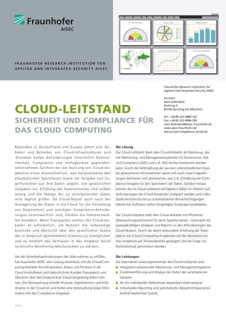 Cloud-Leitstand CeBIT 2012