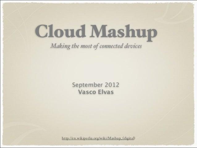 Cloud Mashup