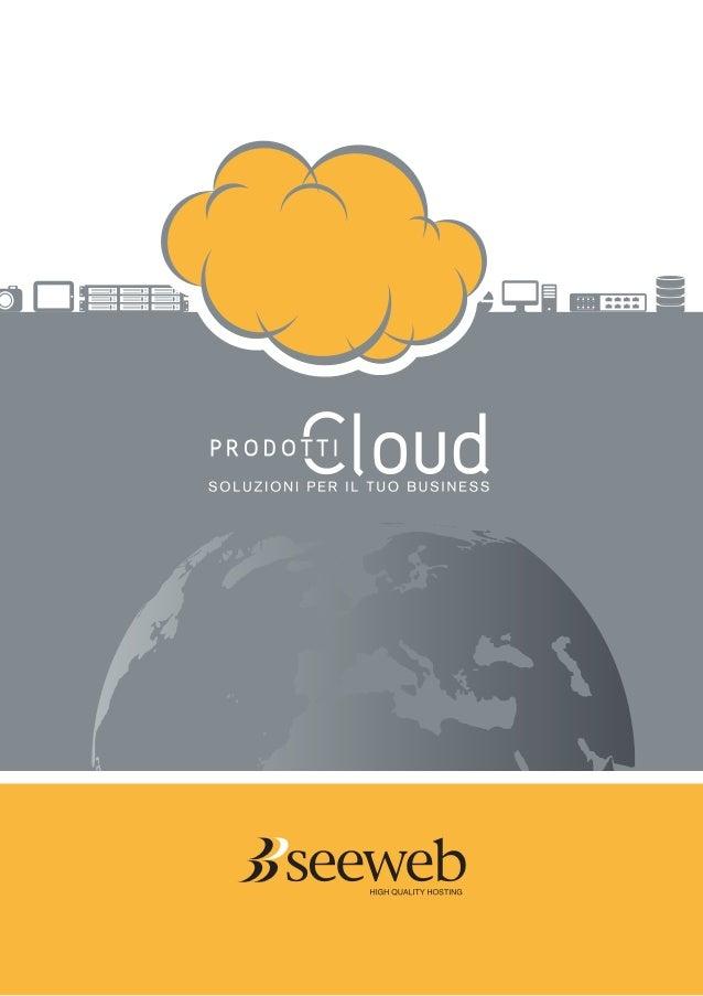 Tutto il Cloud di Seeweb