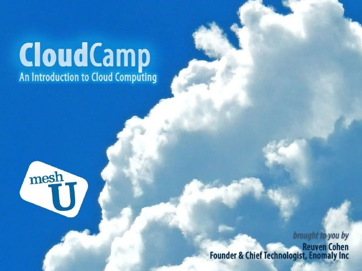 MeshU Cloud Camp