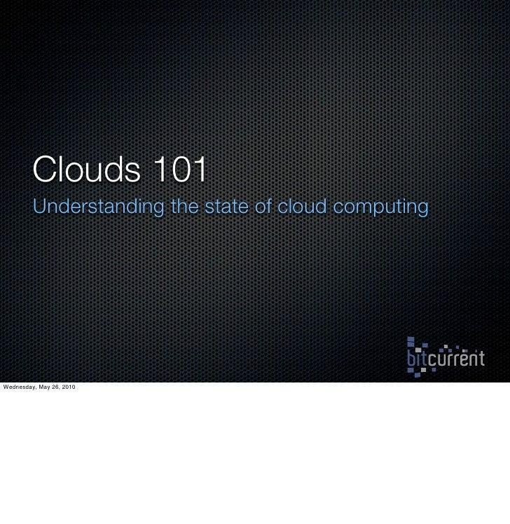 Cloud 101