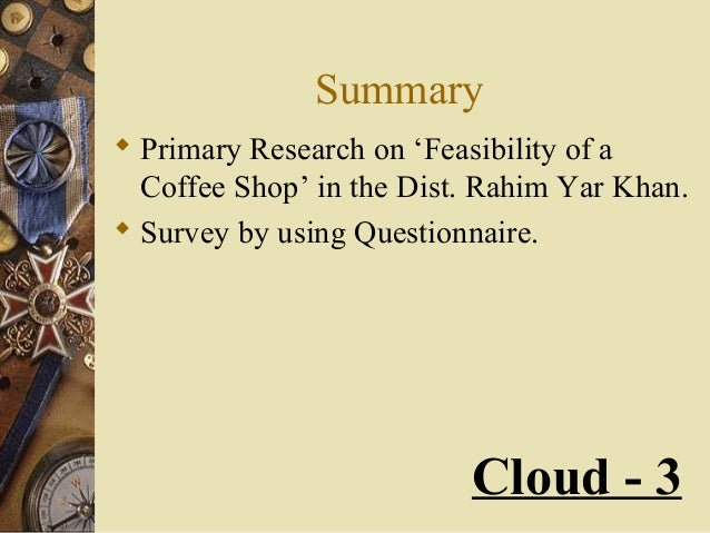 questionnaire coffee shop Practice 20 barista interview questions with professional interview answer examples with advice on how to answer have you ever worked in a coffee shop before.