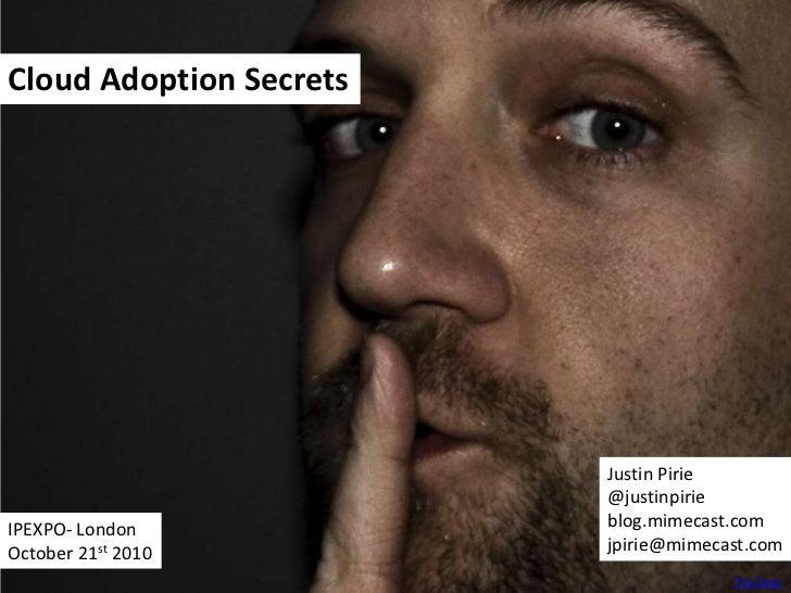 Cloud Adoption Secrets