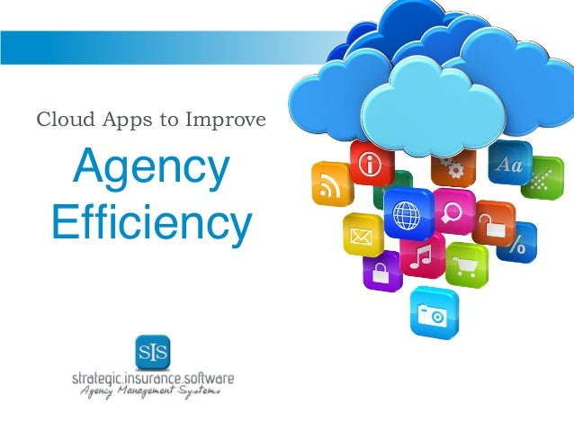 Cloud Apps to Improve Agency Efficiency