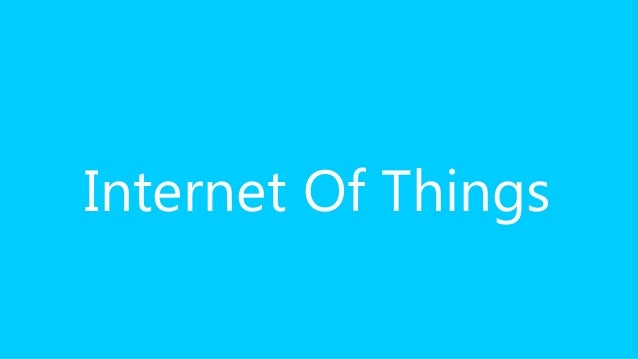 Cloudbrew - Internet Of Things