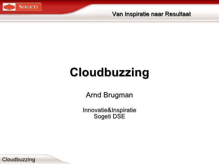 Cloudbuzzing