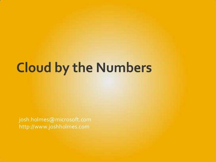 Cloud by Numbers