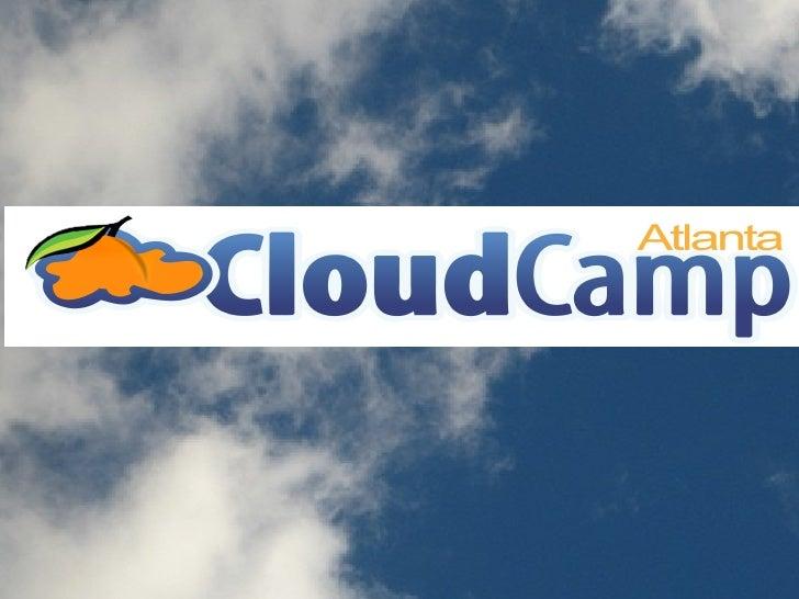 Cloud Camp Atlanta