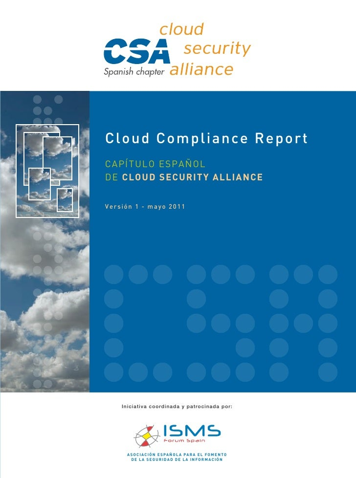 Cloud compliance report_csa-es_v.1.0