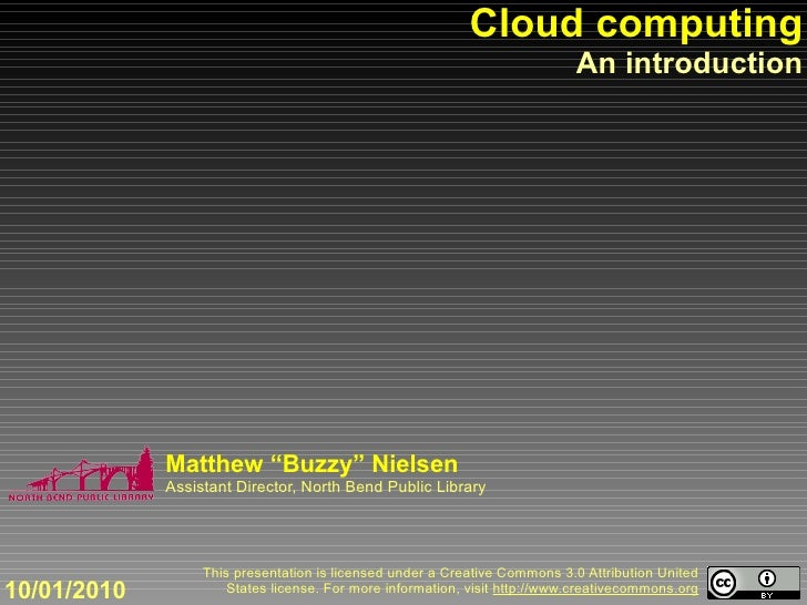 Cloud computing                                                                             An introduction               ...