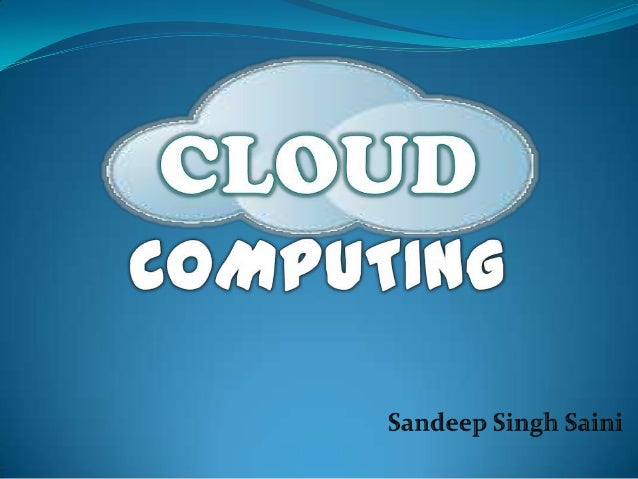 What is Cloud Computing? Cloud computing is a technology that uses  the internet and central remote servers to  maintain ...
