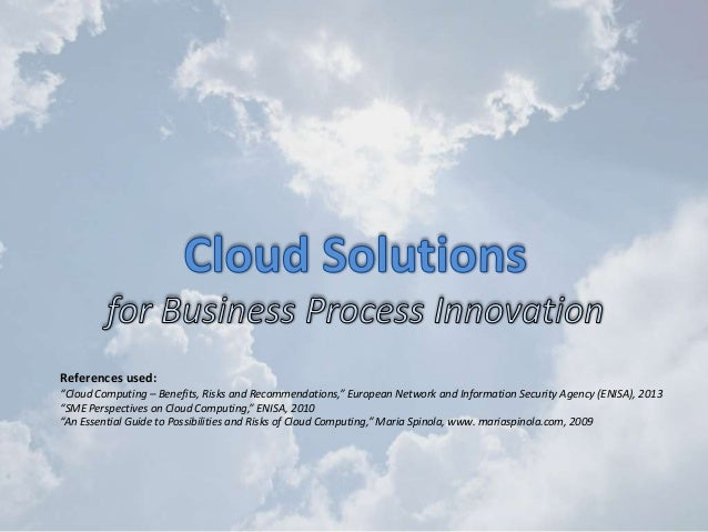 Cloud computing overview for business people