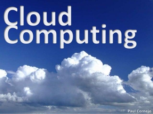 Cloud computing - computacion en las nubes