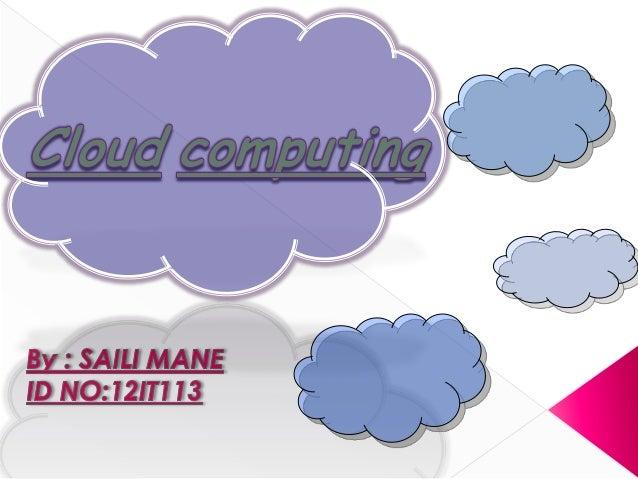 Cloud computing simplified...