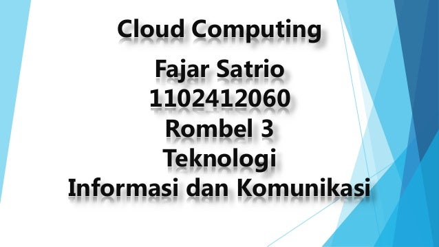 power point Cloud computing