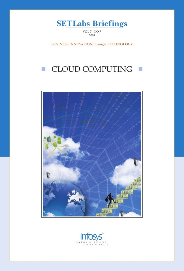 VOL 7 NO 7        2009cLOud cOmpuTINg
