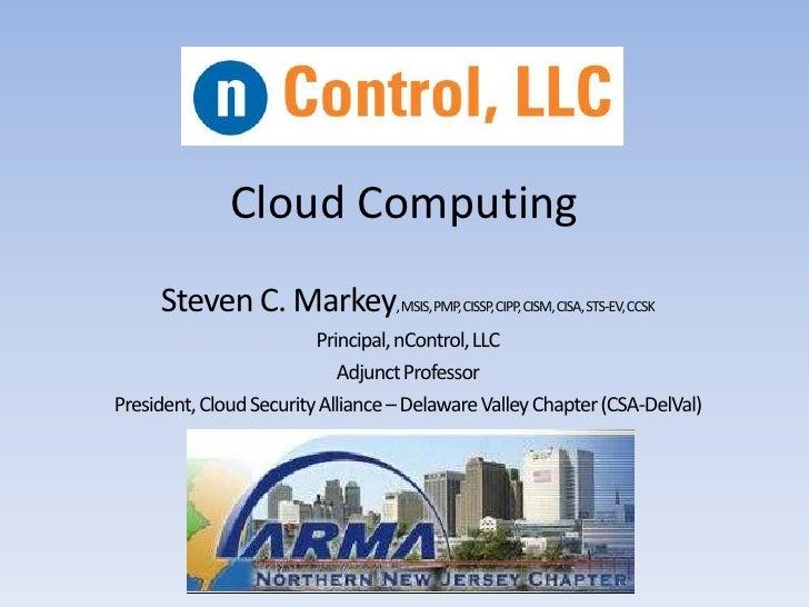 Cloud computing arma_nnj