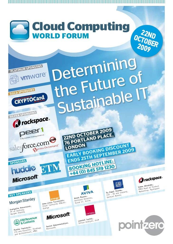 Cloud Computing World Forum
