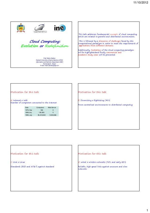 11/10/2012                                                                             This talk addresses fundamental con...