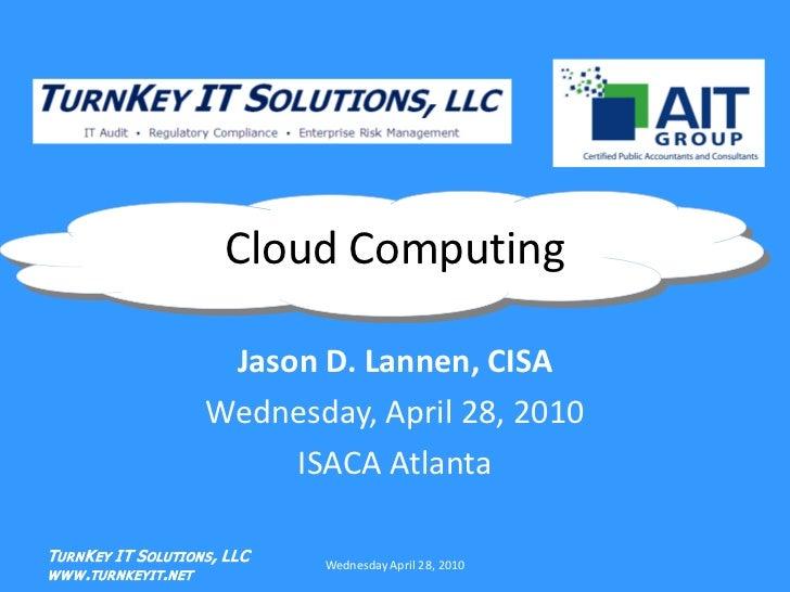 Cloud computing jason lannen_4-28-10