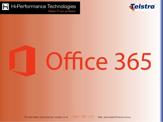 Cloud computing made easy   Office 365