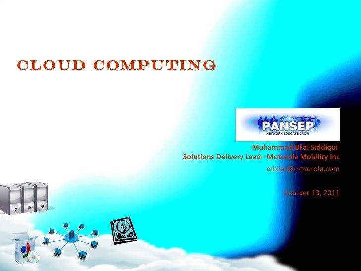 Cloud computingpansep