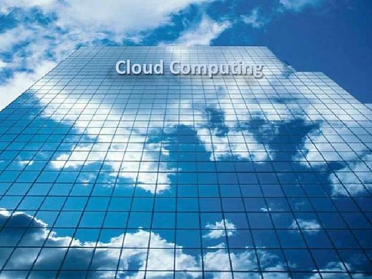 Cloud Computing<br />