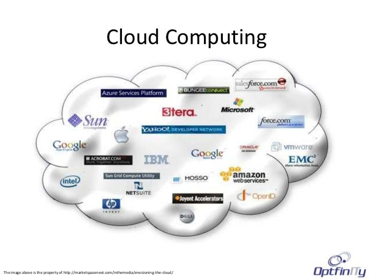 Cloud ComputingThe image above is the property of http://marketspacenext.com/inthemedia/envisioning-the-cloud/