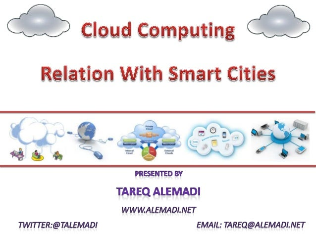 Cloud Computing Relation With Smart Cities