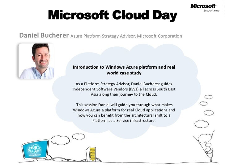 MS Cloud Day - Introduction to Windows Azure platform and real world case study