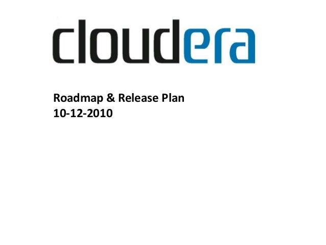 Cloudera - Charles Zedlewski - Hadoop World 2010