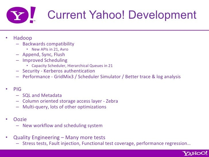 Who is yahoo's developer?