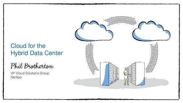 Cloud for the Hybrid Data Center VP Cloud Solutions Group, NetApp