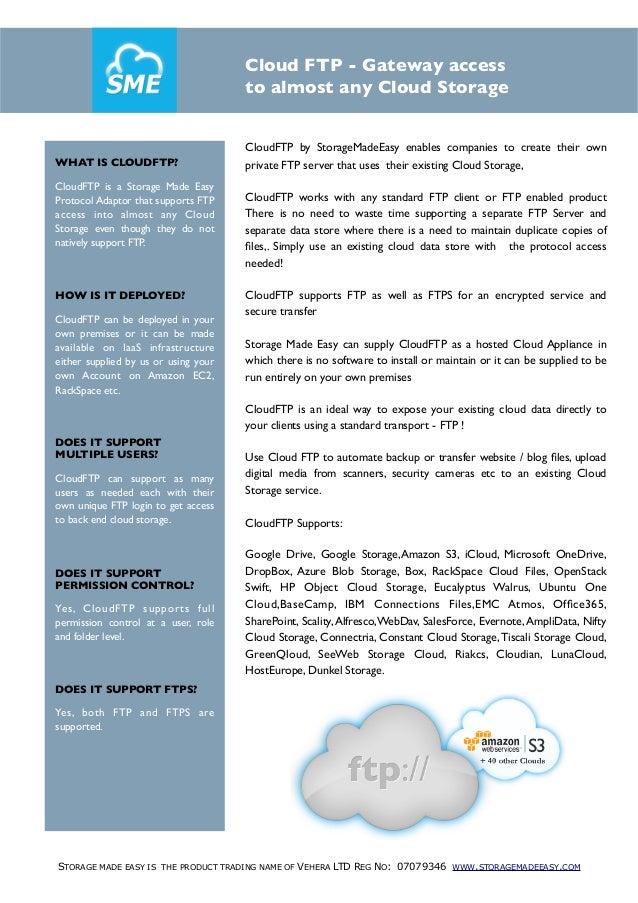 Cloud FTP  Gateway white paper
