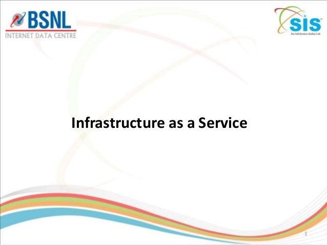 Cloud infrastructure,  IaaS