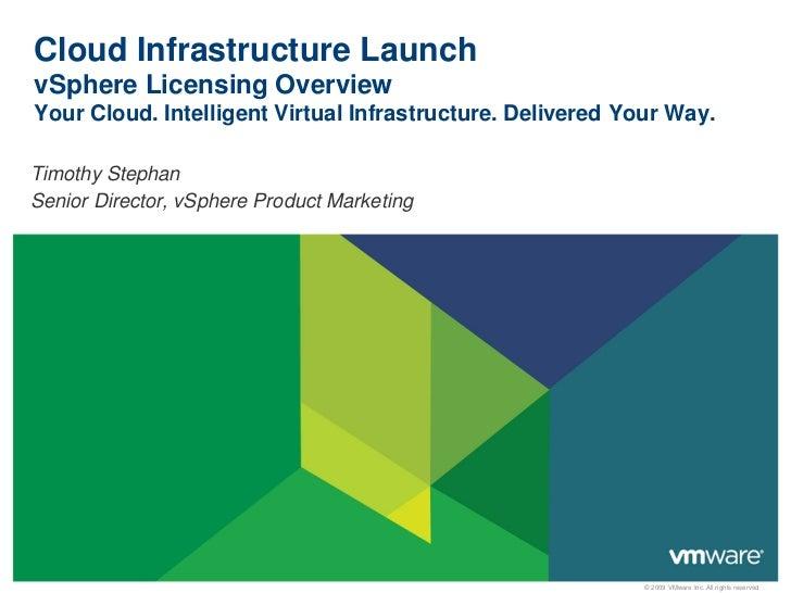 Cloud infrastructure licensing_v2