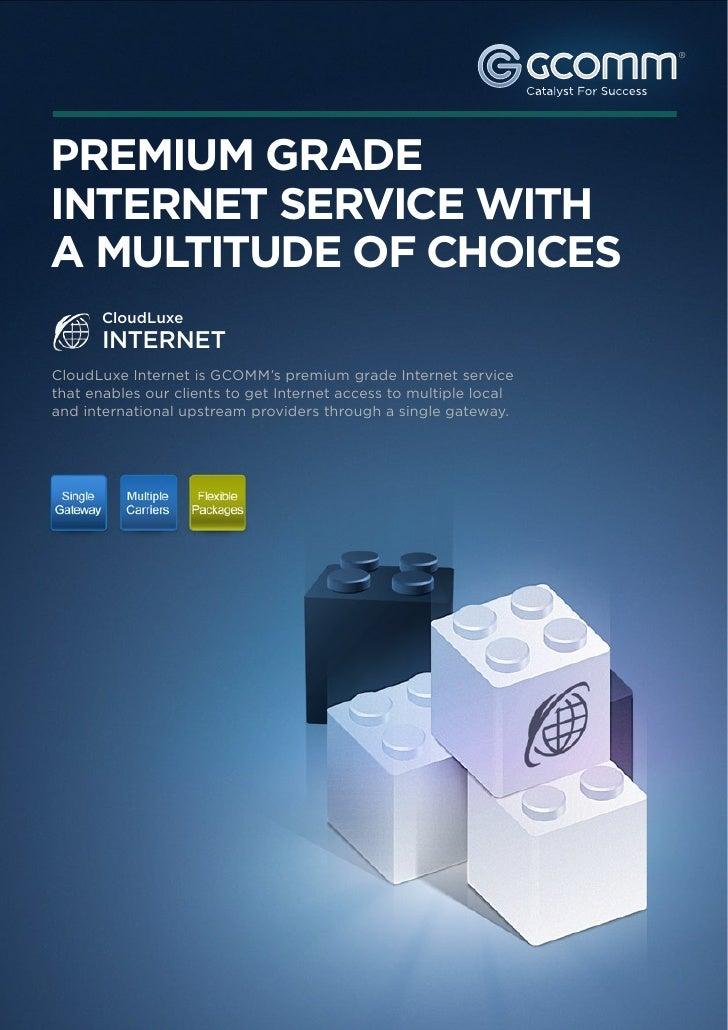 CloudLuxe Internet