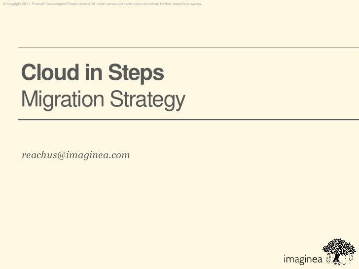 Migrating to Cloud - A Step by Step