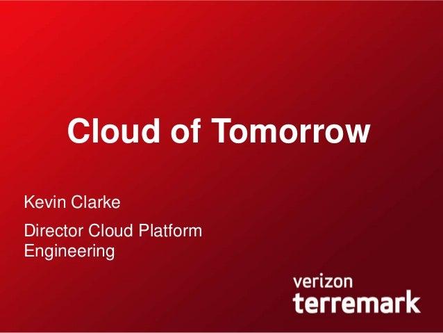 Cloud of tomorrow