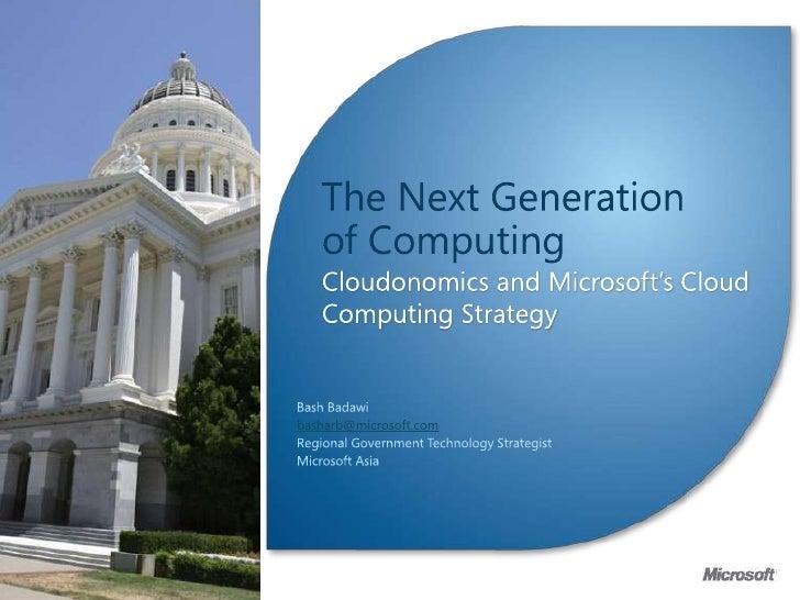 Cloudonomics IP Monetization Conf - Malaysia