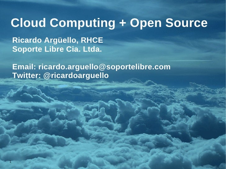 Desarrollo de Cloud Computing